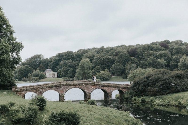 stourhead wedding bridge