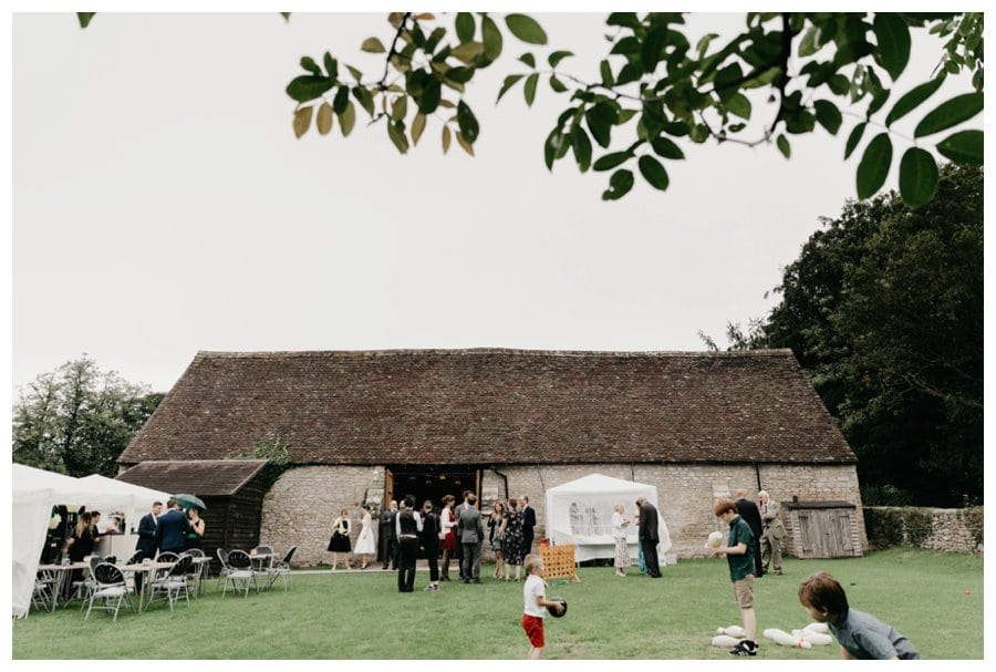 mells barn wedding