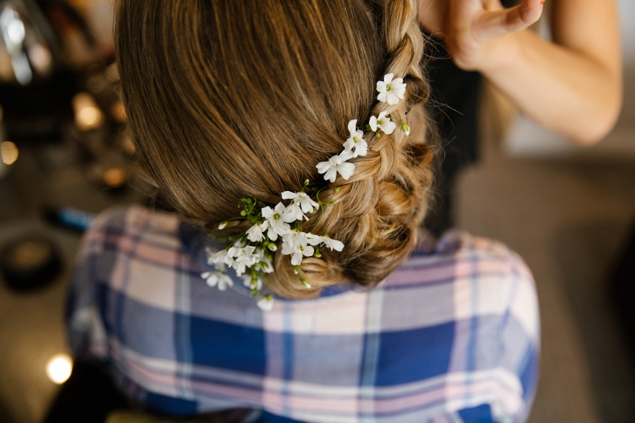 guernsey wedding hair