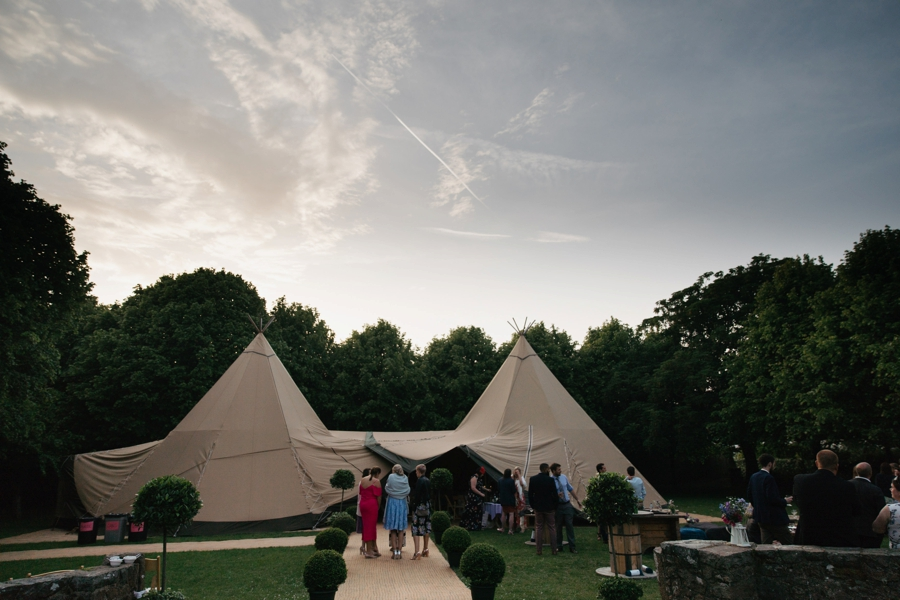 guernsey wedding tipi