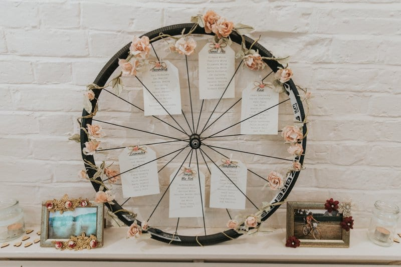 bicycle details wedding