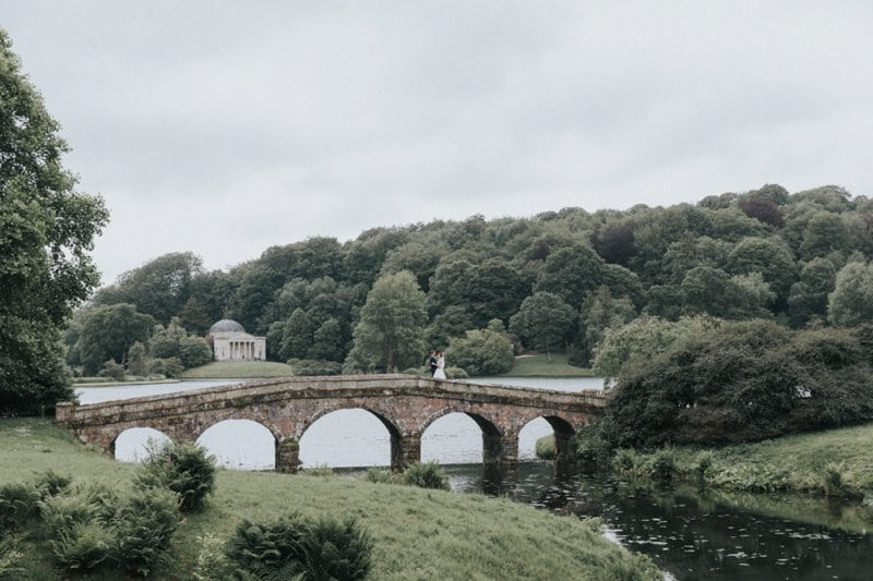 stourhead wedding bridge