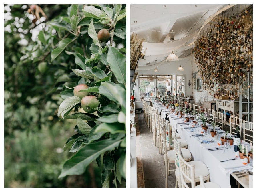 pythouse kitchen wedding
