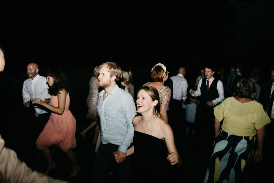 ceilidh dancing at wedding