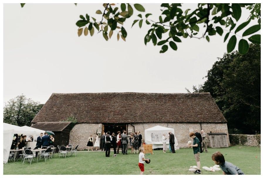 mells barn wedding