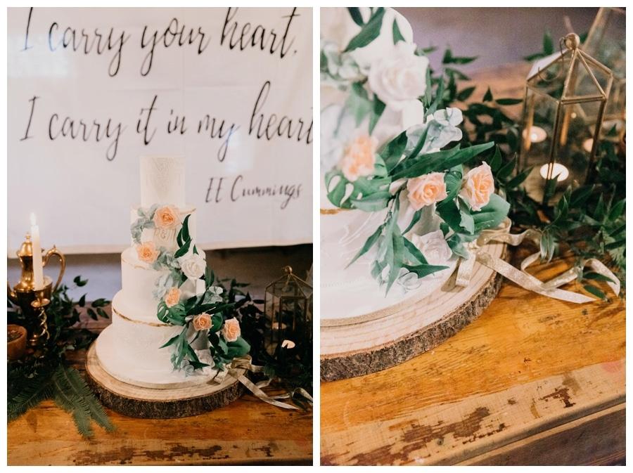 Bohemian Wedding cake