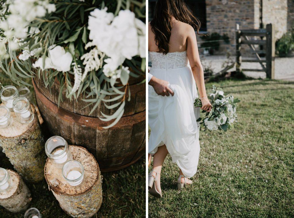 natural wedding photographer somerset