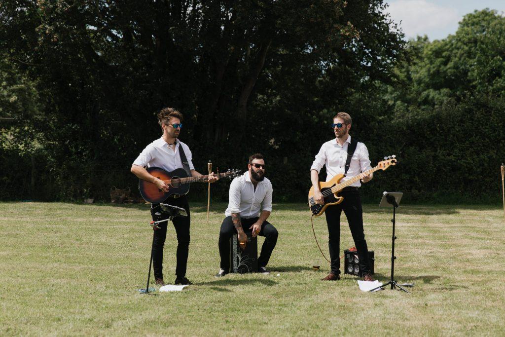 wedding band trio