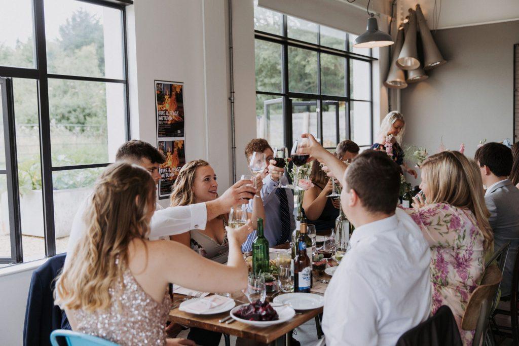 Field Kitchen Wedding