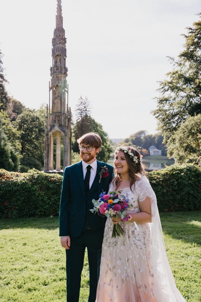 wedding at stourhead