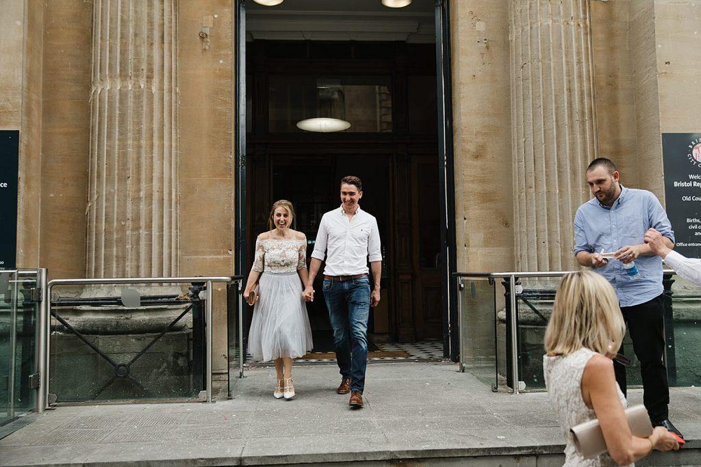 Bristol Registry Wedding